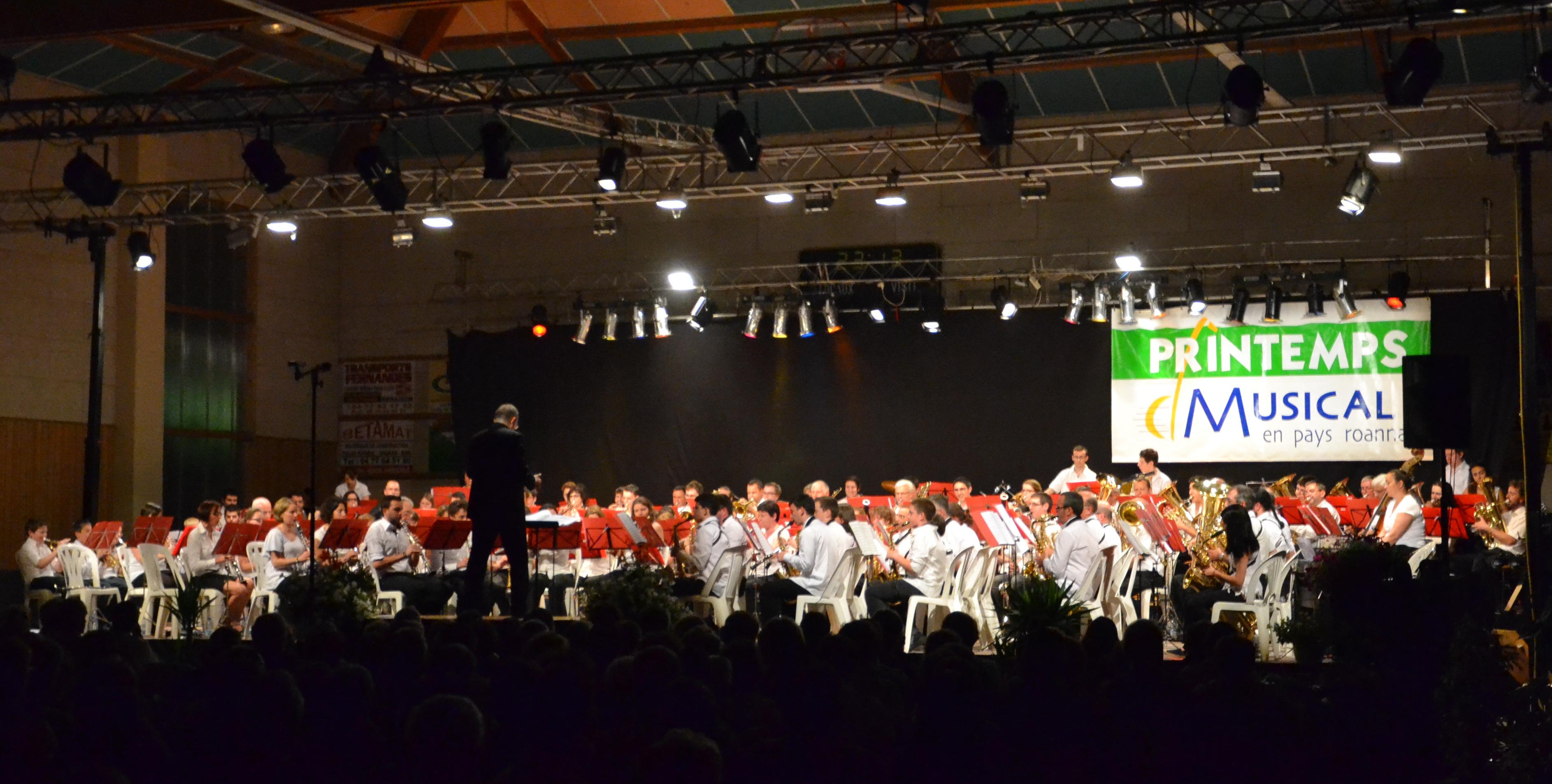 """Concert Harmonissimo 8 juin 2013 avec la Participation de l'harmonie de Mably """"Tous dans le Vent"""""""