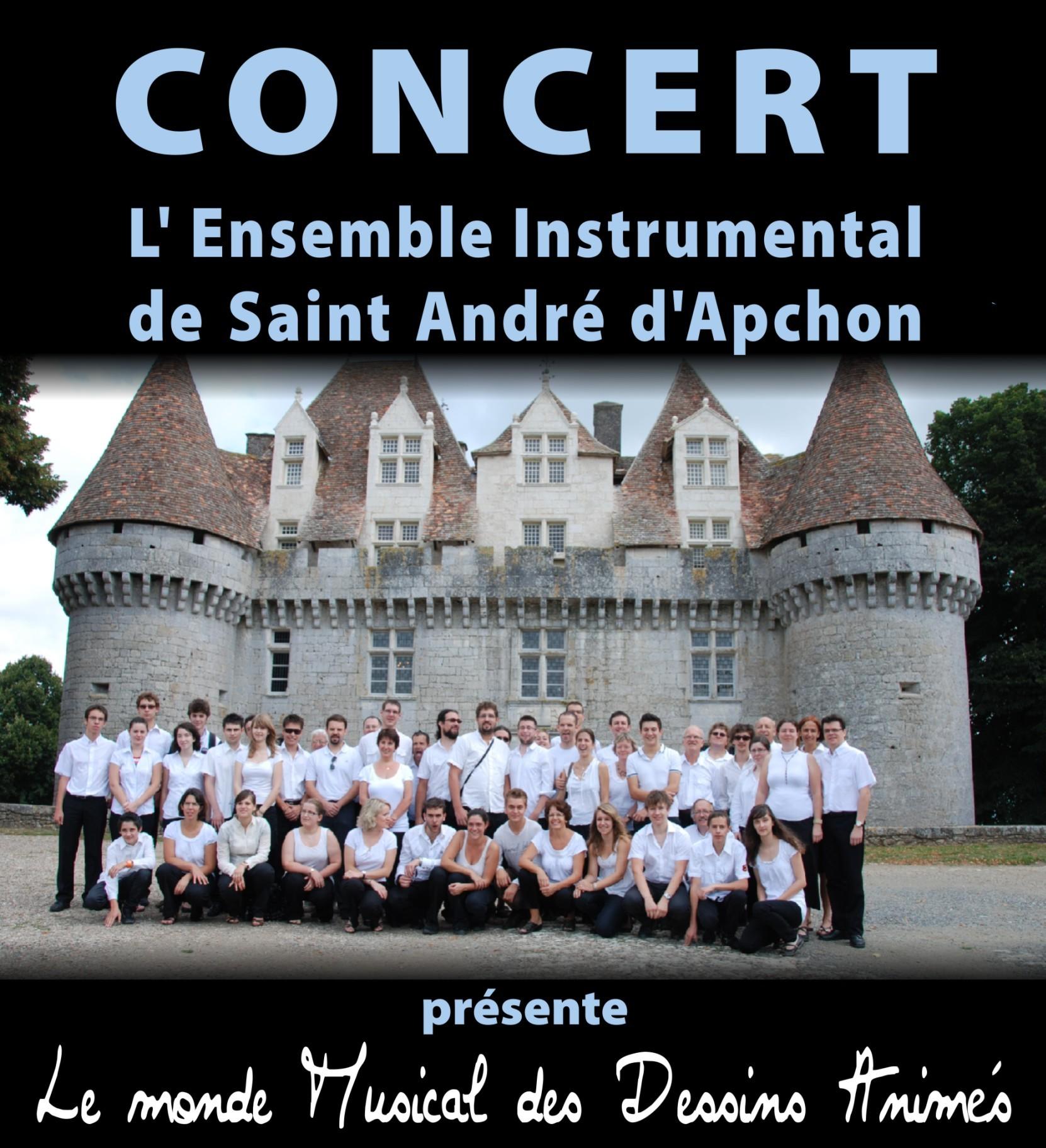Harmonie de St André d'Apchon en tournée en Charentes Maritimes