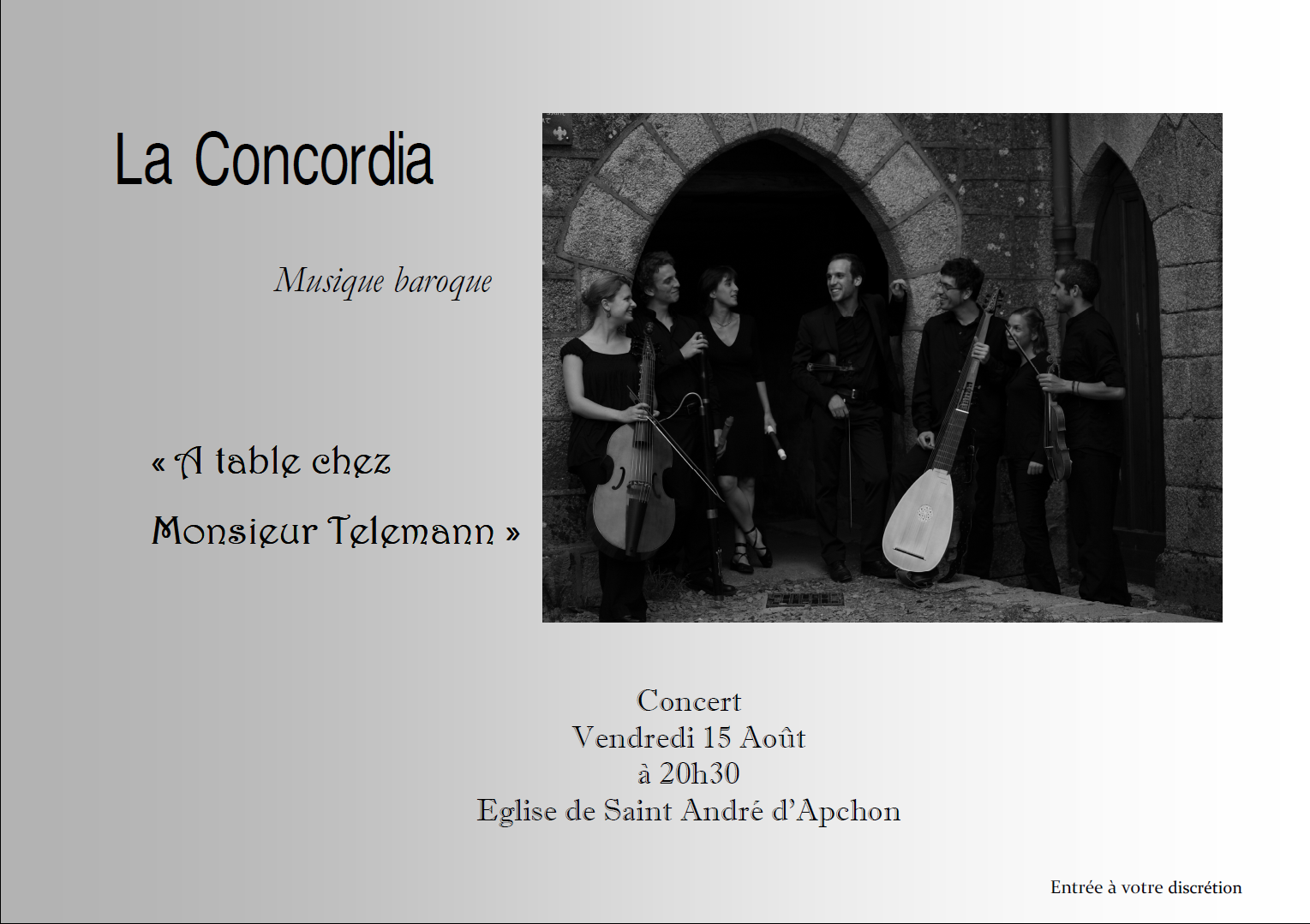 "Concert ""La Concordia"""