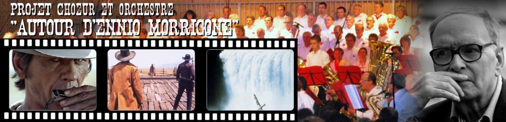 """Concert choeur et orchestre """"Autour d'Ennio Morricone"""" @ Halle des Sports Saint André d'Apchon"""
