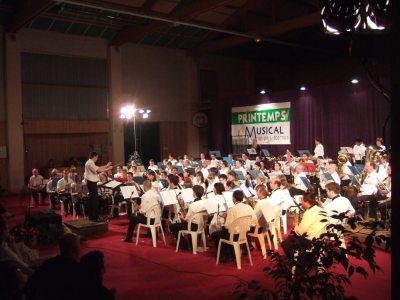 2007 - Concert échange avec l\'harmonie de Montpellier-Jacou